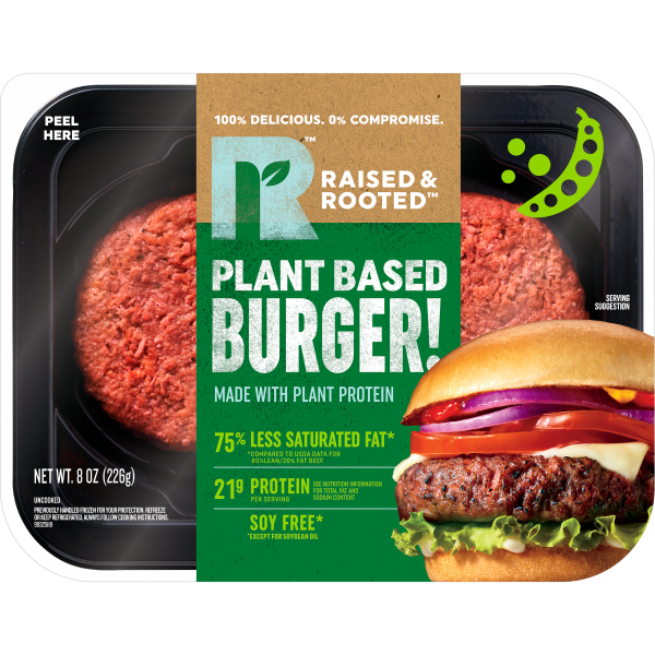 Raised & Rooted™ Plant-Based Burger