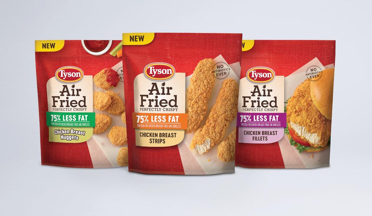 New Tyson® Brand Air Fried Chicken is