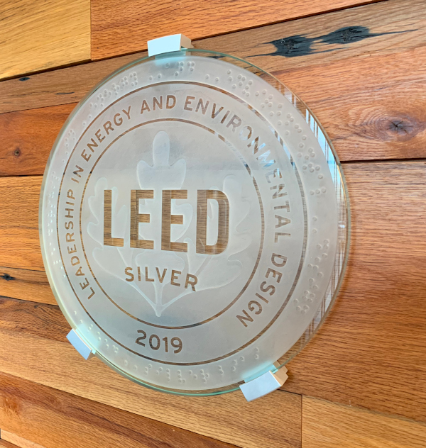 LEED Silver Plaque
