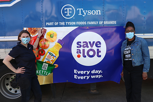 Tyson Foods and Save A Lot Donate Truckload of Protein to St. Louis Area Foodbank