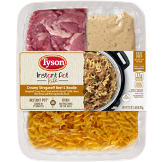Tyson Instant Pot Kits Cream Stroganoff Beef